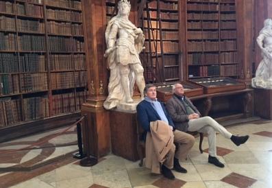 Rik & Jan Hein in Bibl Wenen