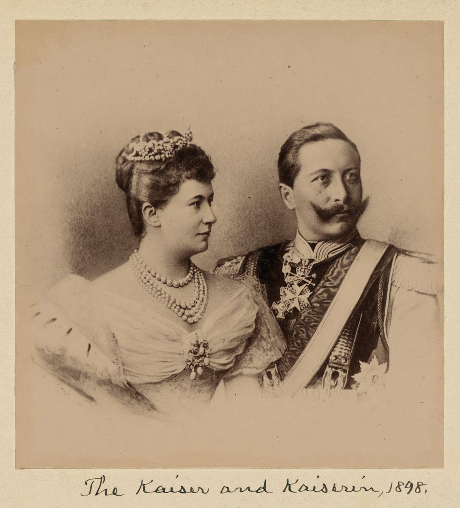 The_Kaiser_and_the_Kaiserin,_1898